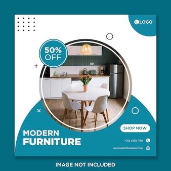 Furniture socialmedia banner template