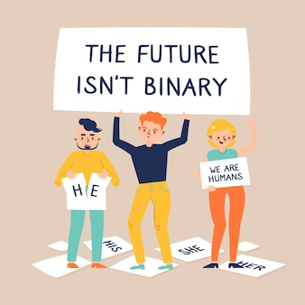 The future isn't binary concept