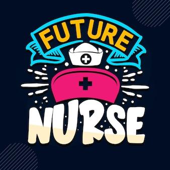 미래 간호사 간호사 견적 프리미엄 벡터
