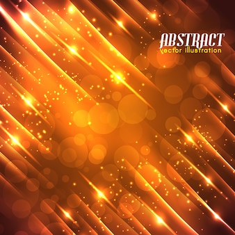 Futuristic abstract background with straight diagonal beams light sparkling glowing blur effects