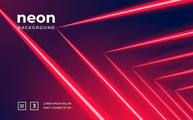 Футуристический абстрактный красочный векторный фон с светящимися электрическими яркими неоновыми линиями