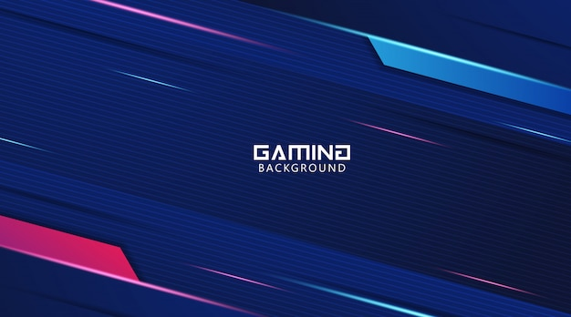 Futuristic abstract gaming background