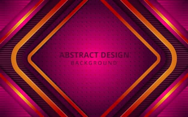 Futuristic abstract geometric square background
