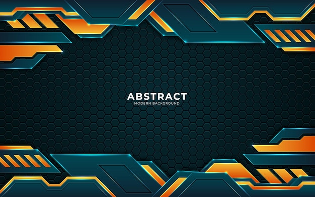 Futuristic abstract luxury background with combination glowing light dots lines premium vector