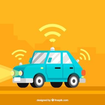 평면 디자인의 미래 자율 자동차
