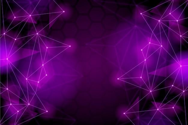 Futuristic background geometric style