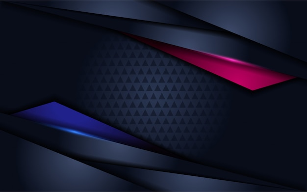 Futuristic background with modern shape and overlap layer