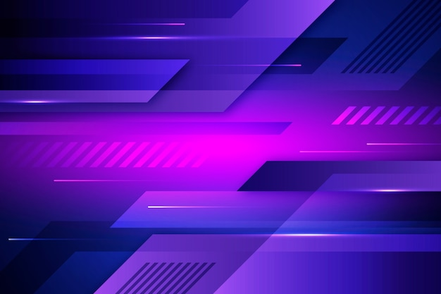 Futuristic background with waves