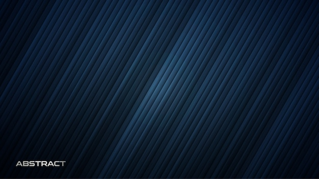 Futuristic blue background with diagonal stripes