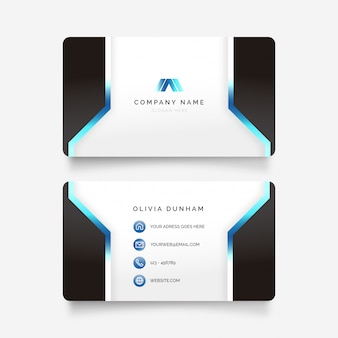 Futuristic Business Card