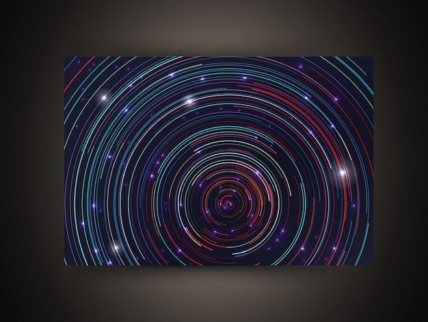 Futuristic circle