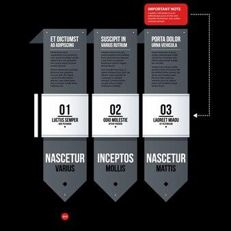 Futuristic corporate web design template. useful for presentations or advertising.
