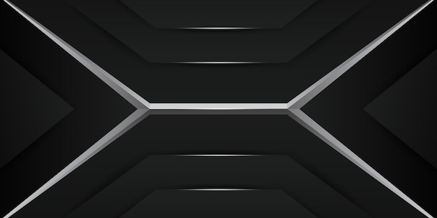 Futuristic dark metallic gaming background