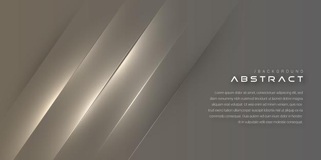 Futuristic elegant monochrome cover background