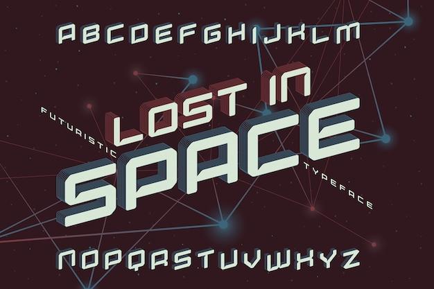 미래의 글꼴 세트