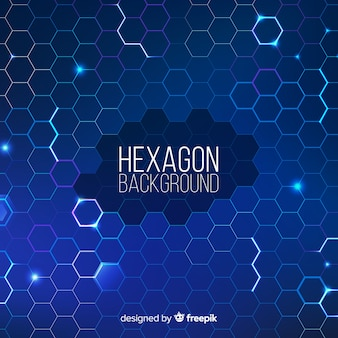 Futuristic geometric net background