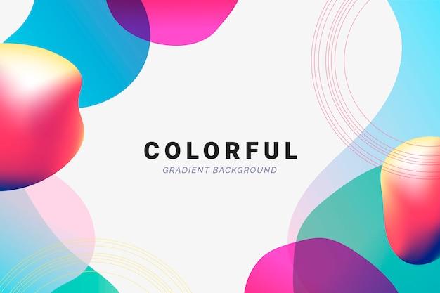Futuristic gradient backdrop