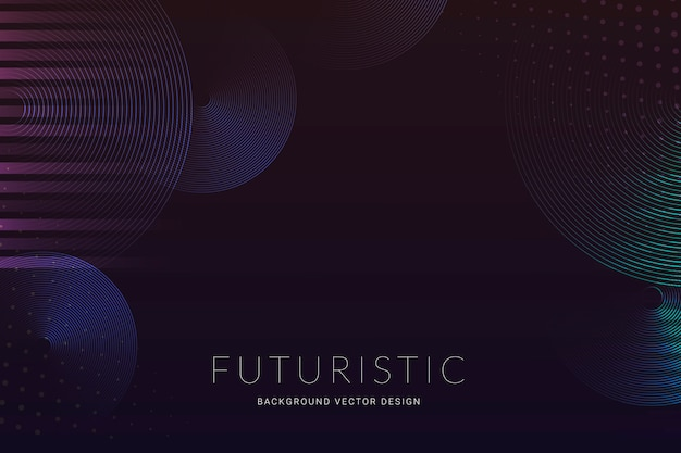 Futuristic halftone background