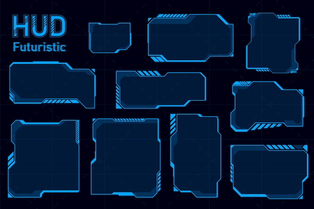Futuristic hud abstracts