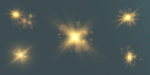 未来的な光の効果