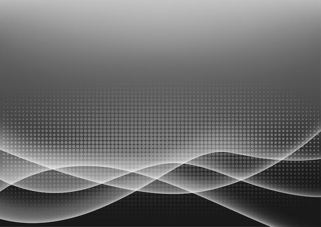 Futuristic light glowing background
