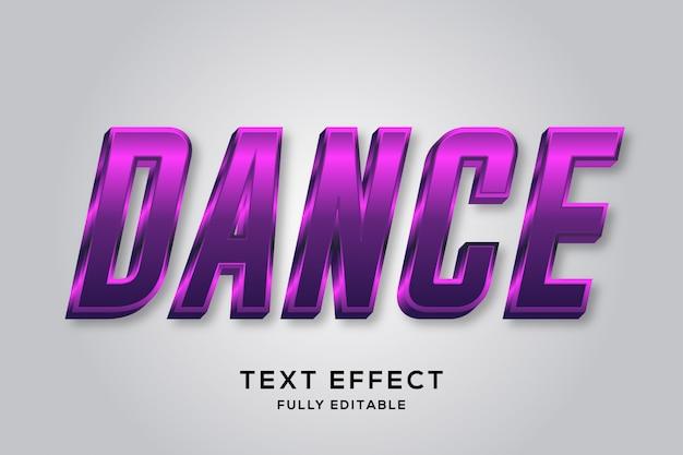 Futuristic shiny metallic purple editable text effect