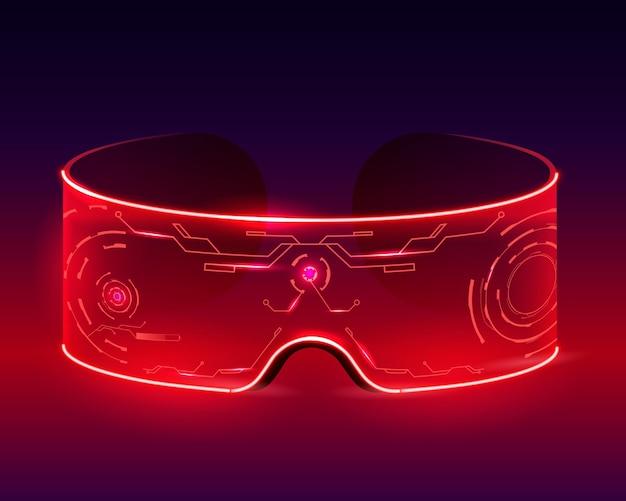 Футуристические техно-очки