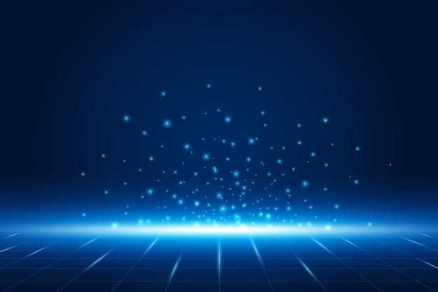 미래 기술 배경 전자 마더 보드 통신 및 엔지니어링 개념