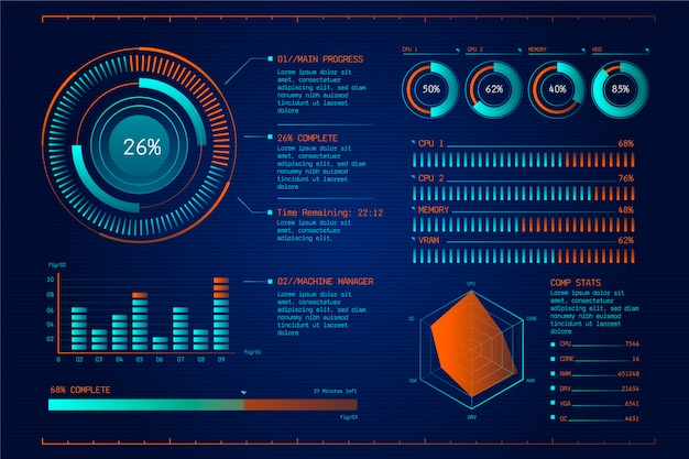 미래 기술 infographic