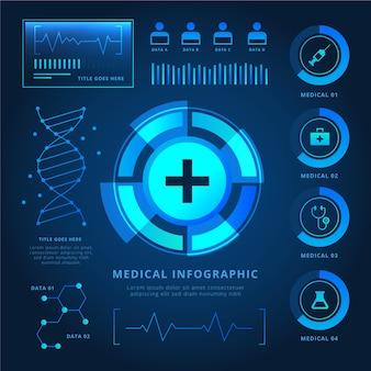未来技術医療インフォグラフィック