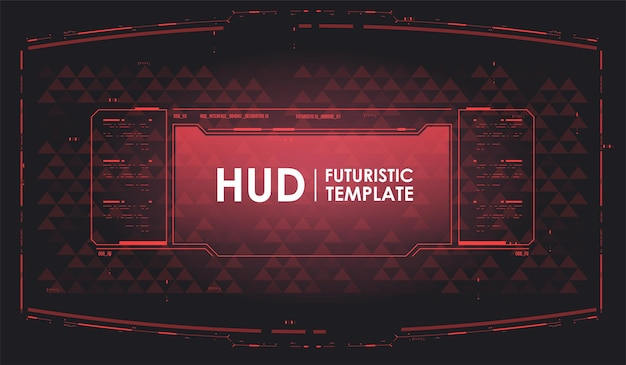 미래형 vr 디자인 디스플레이. 가상 현실 기술 화면. 기술 추상적인 배경 템플릿입니다. hud 미래 배경입니다.