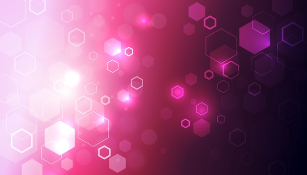 Fututristic hexagon background