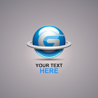 G abstract logo