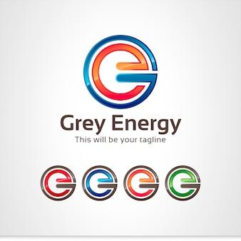 Логотип g, e letter