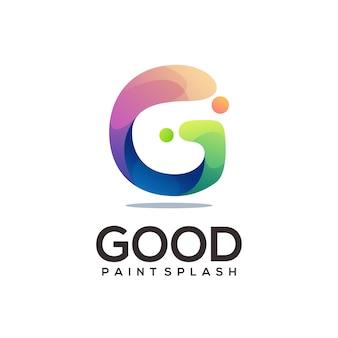 G letter logo colorful gradient