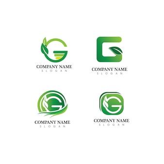 G 편지 벡터 일러스트 아이콘 로고 템플릿 디자인