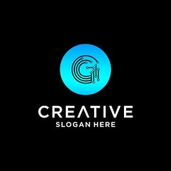 G tech logo design