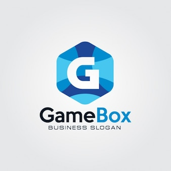 Креативный буква g логотип