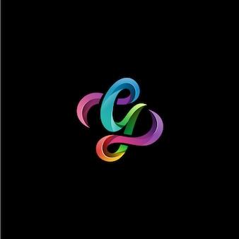 Gの文字のロゴ