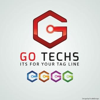 G письмо логотип