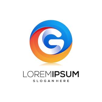 Буква g логотип значок