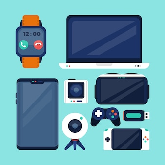 Gadget icon collection