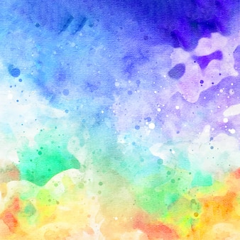 Galaxy abstract watercolor background