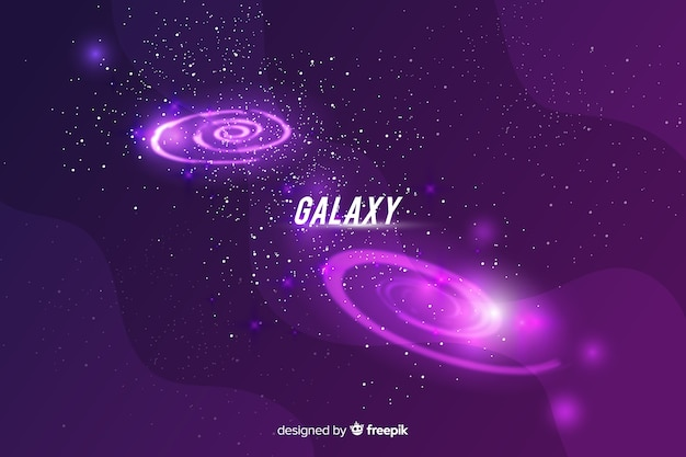 Galaxy background design