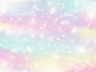Galaxy fantasy background and pastel color