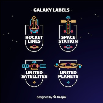 Galaxy label collection