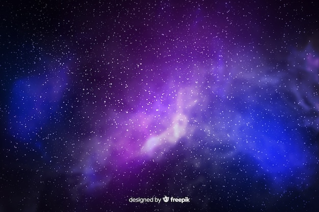 Galaxy particles background
