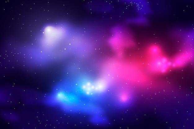 Sfondo di particelle di galassia