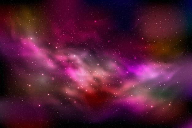 Фон галактических частиц