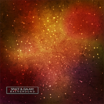 Galaxy in space beauty of universe colorful background